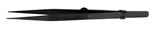 SE 502TW 6.25-Inch Diamond Tweezers with Side Lock by SE