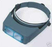 (Donegan DA-10 OptiVisor Headband Magnifier, 3.5x Magnification, 4