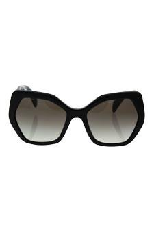 6a472e80a Amazon.com : Prada Spr 16r 1ab-0a7 - Black/grey Gradient Sunglasses For  Women : Beauty