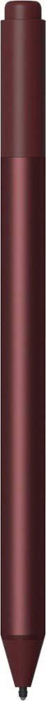 Microsoft Official Surface Pen 4096 Pressure Sensitivity, Tail Eraser, Barrel Button, Compatible for Surface Pro 5, Pro 6, Surface Go/Book/Studio/Laptop, Bluetooth 4.0 - Burgundy