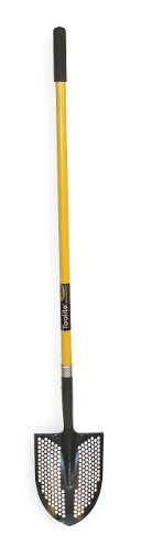 Mud/Sifting Round Point Shovel, 48 In. by SEYMOUR MIDWEST TOOLITE
