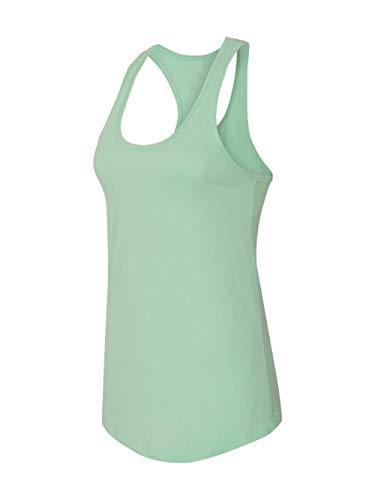 Next Level Apparel Women's Tear-Away Tank Top, Mint, Medium