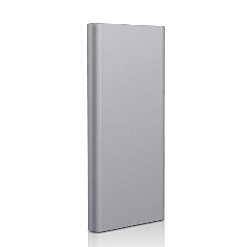 External Hard Drive 2TB, Hard Drive Ultra Slim and Compact Portable Hard Dive Compatible with PC, Desktop, Laptop, Mac (2TB, Gray)