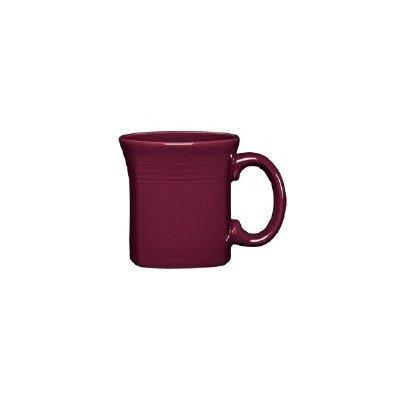amazon com 13 oz square mug color claret coffee cups mugs