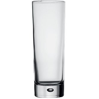 Centra Tall Narrow HiBall Glasses - 10oz (Box 6) Ideal for Beer, Cocktails