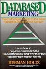 Databased Marketing, Herman R. Holtz, 0471551872