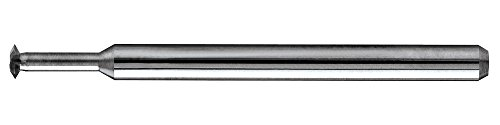 KYOCERA 98M40-0700.4FB1 Micro Solid Thread Mill, Carbide, 4 Flutes, Uncoated, 3.10 mm Cutting Diameter, 12.7 mm Cutting Length, 64 mm Length, 6 mm Shank Diameter, M4.0 x 0.700 Thread