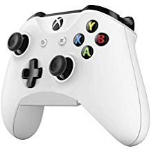 Skywin Controller Wall Mount - Compatible with Xbox One, Xbox One S, Xbox One X, Xbox One Elite, or Nintendo Switch Pro Controllers (White) (4-Pack) by Skywin