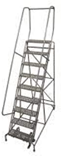 product image for Cotterman 1009R2632A6E10B4AC1P6 - Rolling Ladder Steel 120In. H. Gray