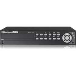 (Everfocus - ELUX8/1T - EverFocus 8 CH, H.264, 1080p Hybrid(AHD + TVI)DVR - Hybrid Video Recorder - H.264 Formats - 1 TB Hard Drive - 128 MB - 240 Fps - Composite Video In - Composite Video Out - 8 )