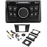 Rockford Fosgate Yamaha YXZ1000R Digital Media Bluetooth Receiver + Install Kit