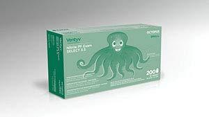 Ventyv Nitrile Powder Free Exam Glove Plus 3.5 (Octopus), Lavender Blue, Small 10334105 by Ventyv (Image #1)