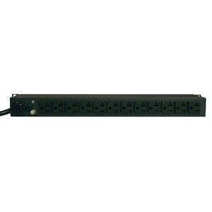 Tripp Lite PDUMH20 PDU Metered 120V 20A 5-15/20R 12 Outlet L5-20P Horizontal 1URM by Tripp ()