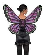 AMSCAN Gothic Jewel Butterfly Wings Halloween Costume