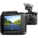 4K Dash Cam Dashboard Camera Car Recorder for Cars with Night Vision / KAMTRON G-4 150 Wide Angle Lens Dashboard Camera With Wi-Fi and APP, G-Sensor, GPS, WDR, Loop Recording