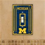 - Michigan Art Glass Lightswitch Cover
