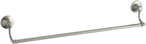 - KOHLER K-11411-BN Bancroft 24-Inch Towel Bar, Vibrant Brushed Nickel