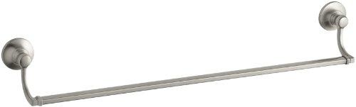 KOHLER K-11411-BN Bancroft 24-Inch Towel Bar, Vibrant Brushed Nickel
