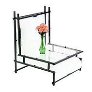 Smith-Victor TST24 24'' Shooting Table with Opaque Plexiglass. by Smith-Victor