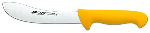 Arcos 2900 Range 8-Inch  Skinning Knife, Yellow by ARCOS
