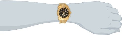 Swiss Precimax Men s SP13123 Recon Pro Gold-Tone Stainless Steel Watch