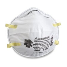 MMM8654ES - 3M N95 Sanding and Fiberglass Insulation Respirator