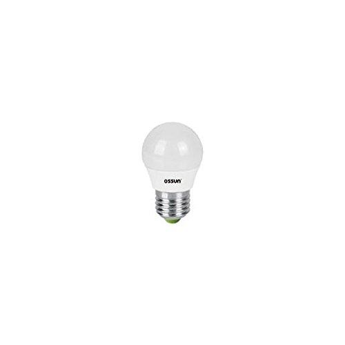 Ossun-Bombilla Esferica Led Profesional 8W (75W) E-27 6400K: Amazon.es: Iluminación