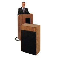 Lectern Standard Laminate - Oklahoma Sound 300 Extension Speaker, Dual 8
