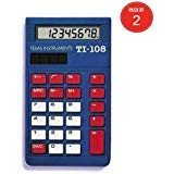 Texas Instruments TI-108 Solar Power Calculator/Teacher