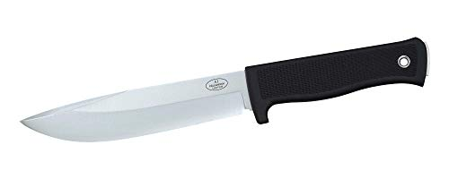 Black Fine Blade - Fallkniven A1 Fine Edge Fixed Blade Knife, Black