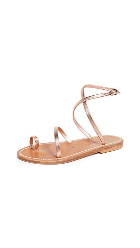 K. Jacques Women's Loki Sandals, Lame Peach, 39 M EU for sale  Delivered anywhere in USA