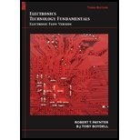 Electronics Technology Fundamentals : Electron Flow Version, Paynter and Paynter, Robert T., 0131362569