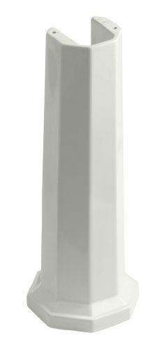 KOHLER K-2324-NY Kathryn Bathroom Sink Pedestal, Dune