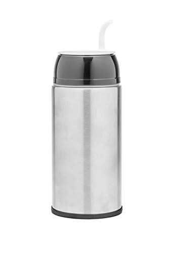 NEW Balibetov - stainless steel Automate - Thermo, Mate cup and Bombilla all in one - No need to refill every time you want to drink (BLACK) - New Stainless Steel Thermos