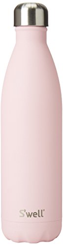 S'well 10025-A18-06465 Stainless Water Bottle, 25 oz, Pink Topaz