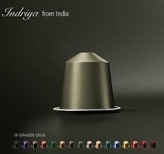 200 Indriya Nespresso Capsules for a Total of 20 Packages! Strong Coffee with a Delicious Aroma by Nespresso