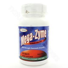Enzymatic Therapy, Megazyme, 100 Tablets