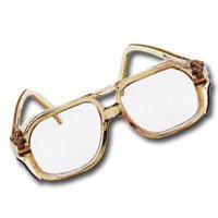 Safety Glasses, 58 mm, Smoke Frame, Clear (FPW1441-3431) Category: Safety Glasses