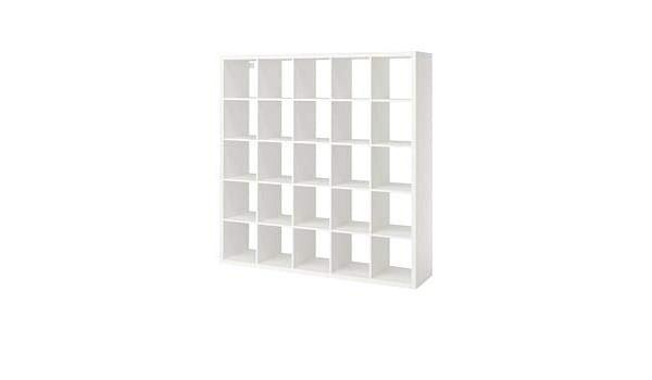 IKEA kallax librería estantería, Blanco 182 x 182 cm: Amazon ...