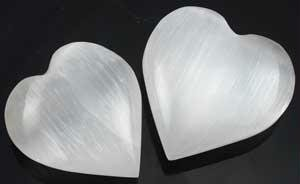 1X AzureGreen Small White Selenite product image