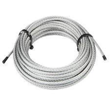 T-304 Grade 7 x 19 Stainless Steel Cable Wire Rope 1/4
