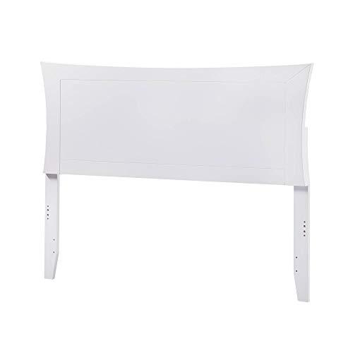 Atlantic Furniture Metro Headboard Full White ()