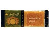 Safari Apricot Fruit Rolls 80g (3 (Safari Food)