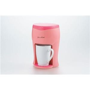 Peer Corolle 1CUP coffee maker pink PCL-04P 2649al (japan import) by Kitchen Planning by Kitchen Planning