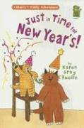 Just In Time For New Year's!: A Harry & Emily Adventure (Holiday House Reader)