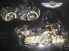 Harley-Davidson 100th Anniversary Edition Ornaments, Serial Number One and 2003 Harley-Davidson Ultra Classic Electra Glide