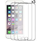 ZeroLemon iPhone 6 Plus Screen Protectors 3 pk,Ultra Glass Armor - 9H Premium Tempered Glass Screen Protector for iPhone 6...