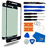 MMOBIEL Front Glass Replacement for Huawei Nexus 6P Series (Black) Display Touchscreen incl Tool Kit