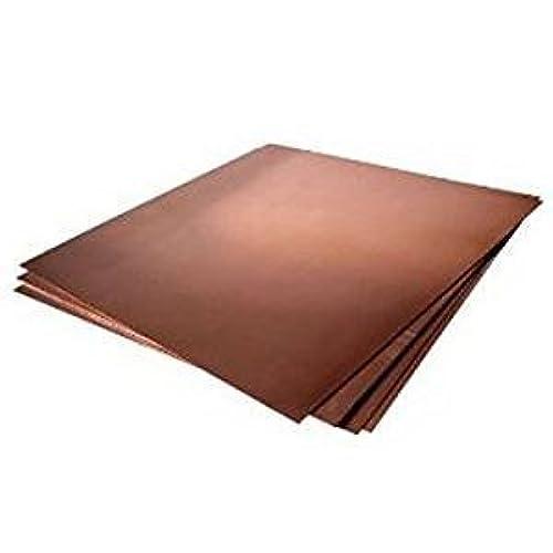 "16oz Copper Sheet (0.0216"") (24 Ga) 12""x18"" - Unpolished Mill Finish 9bJ1lBP1"