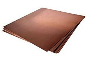 12oz Copper Sheet (0.016'') (26 Ga) 30''x48'' - Unpolished Mill Finish by Grant Logan Copper